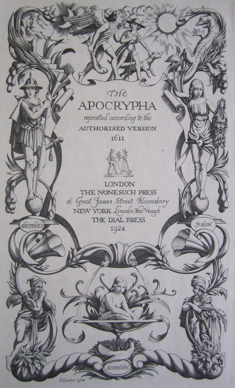 The Holy Bible Reprinted According to the Authorized Version, 1611