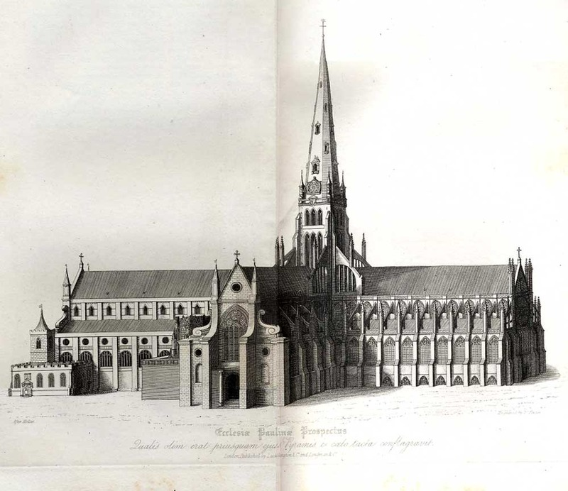 The History of Saint Paul's Cathedral, in London, from its Foundation