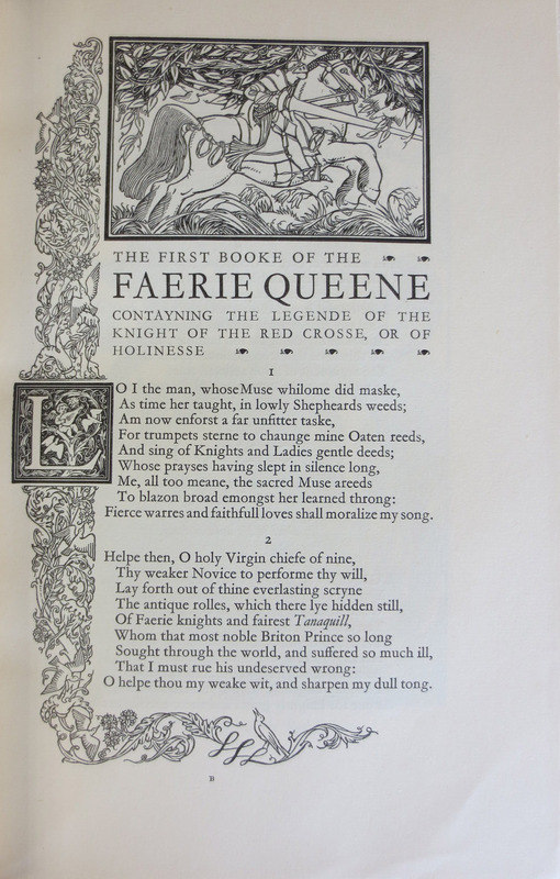 The Faerie Queene, Disposed into Twelve Bookes Fashioning XII Morall Vertues