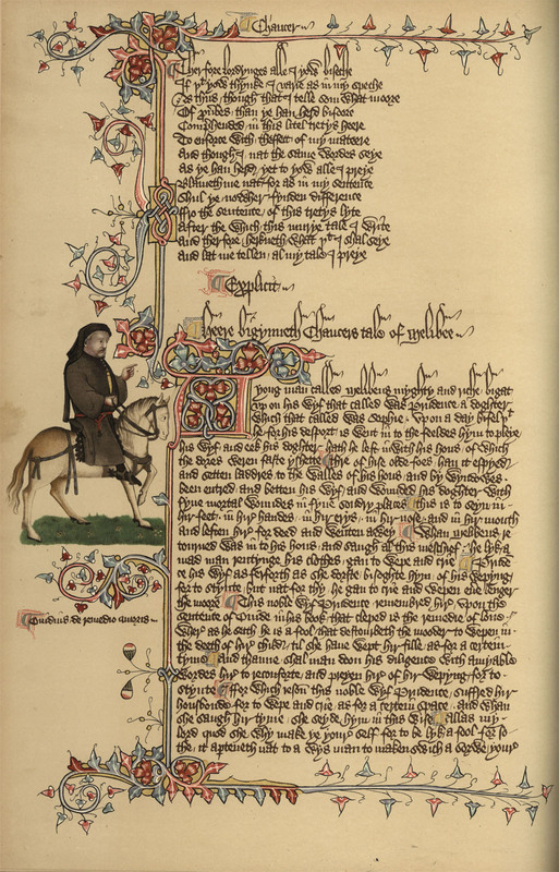 The Ellesmere Chaucer Reproduced in Facsimile