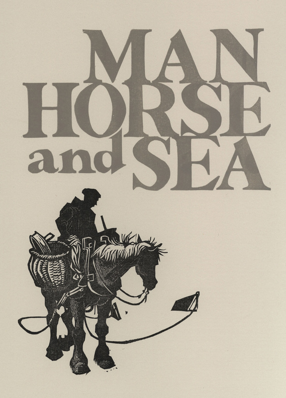 Man, Horse, and Sea