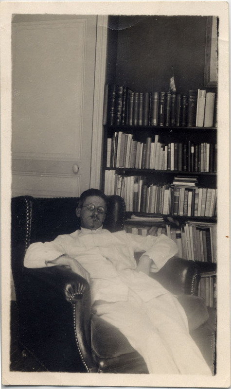 Photograph of James Joyce