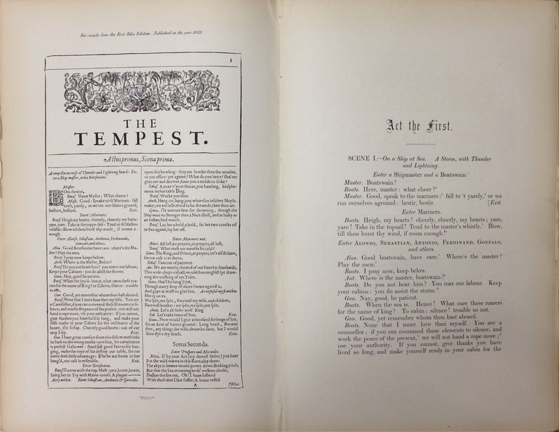 The Works of William Shakespeare, the Text Formed from a New Collation of the Early Editions