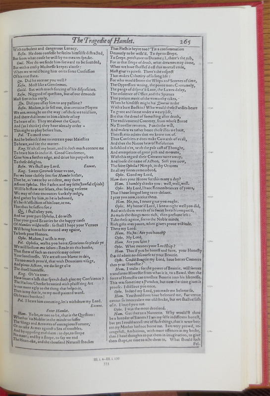 The First Folio of Shakespeare, Prepared by Charlton Hinman