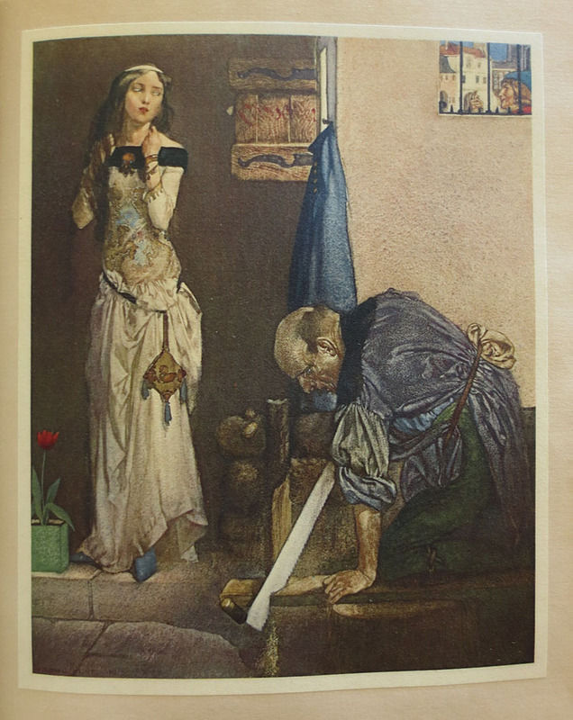 The Canterbury Tales of Geoffrey Chaucer; Illustrated After Drawings by W. Russell Flint
