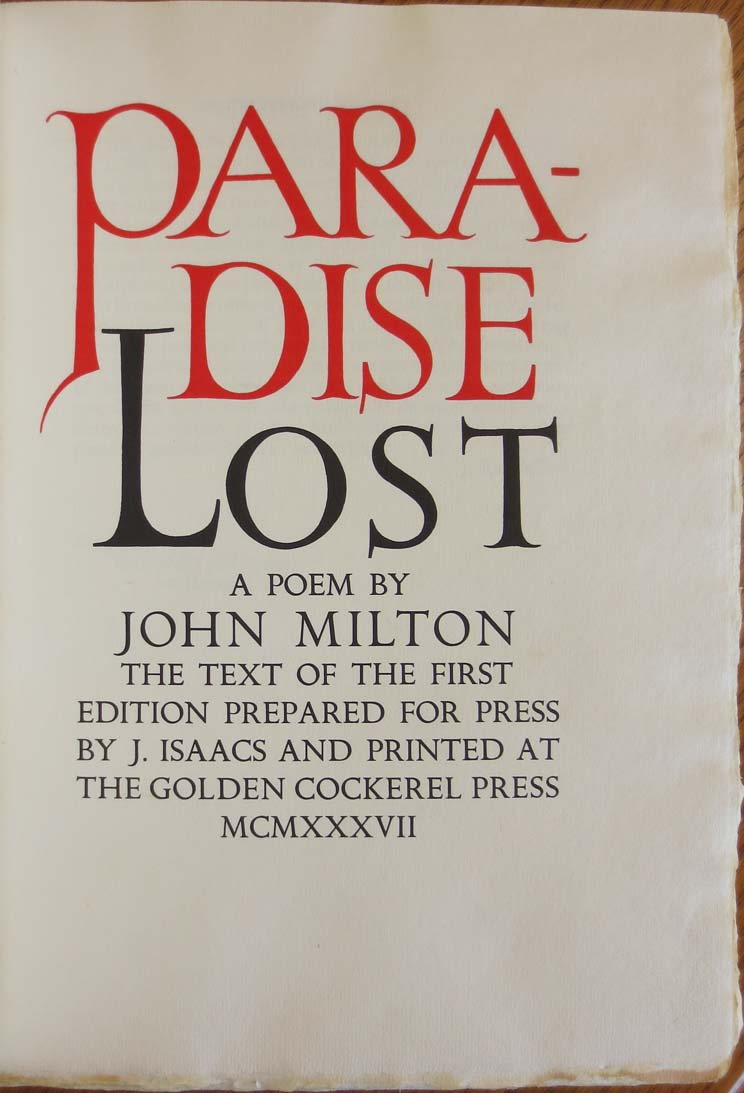 the use of power in paradise lost a poem by john milton  is really the hero of john milton's great epic poem paradise lost (1667)   nothing can exceed the energy and magnificence of the character of  as one  who perseveres in some purpose which he has conceived to be.