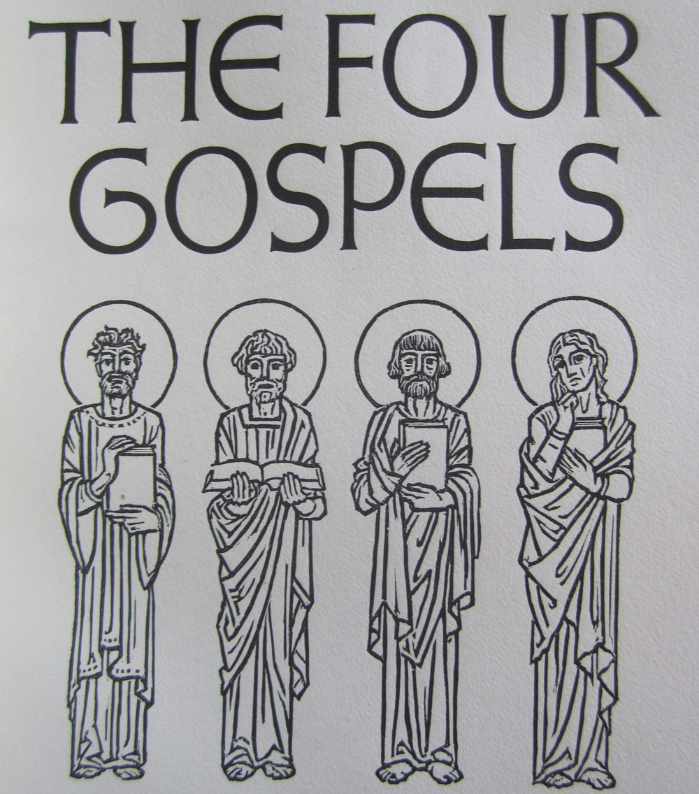 the four gospels Comparative analysis of the four gospels 1 jeff clyde g corpuz de la  salle university manila 2 mark matthew luke john the.