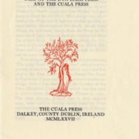 Pressmarks and Devices Used at the Dun Emer Press and the Cuala Press