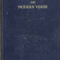 The Oxford Book of Modern Verse, 1892-1935