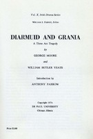 Diarmuid and Grania; A Three Act Tragedy