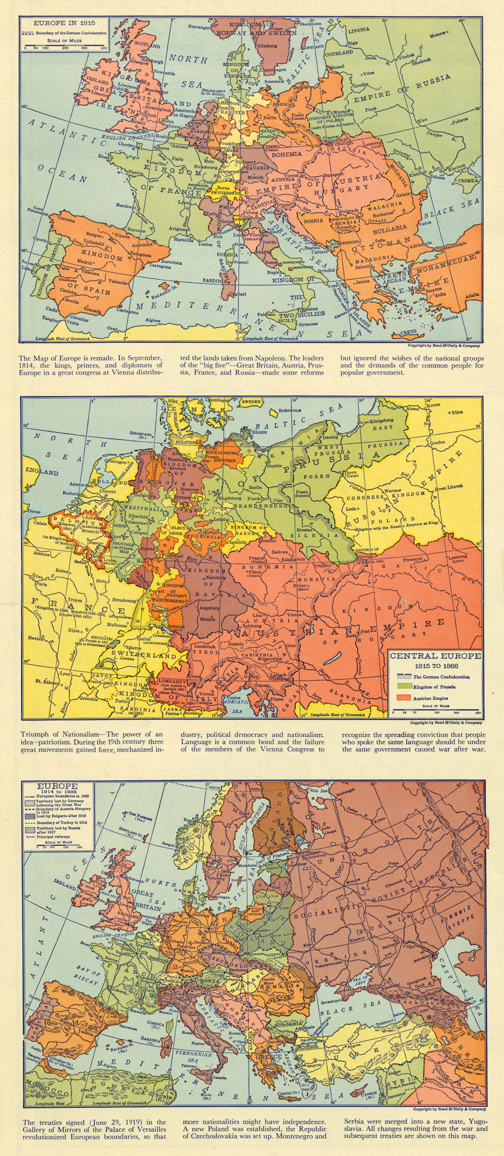 Maps of Central Europe, 1815-1935 · Stitching History from the Holocaust