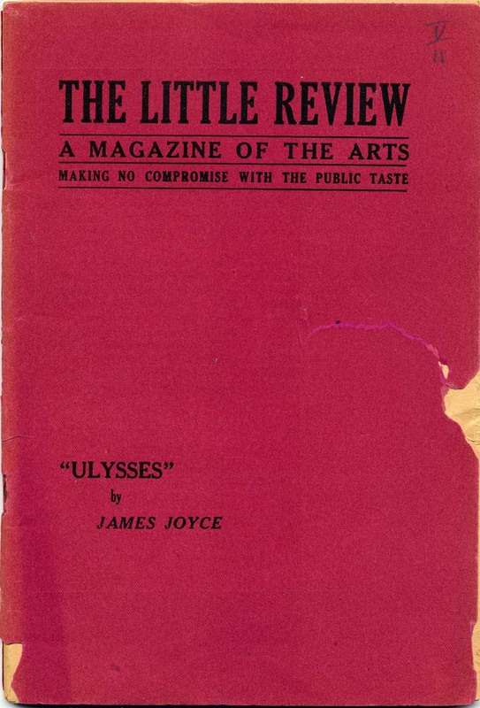 Ulysses, Episode 1, The Little Review, March, 1918. Vol. IV, No. 11, pp. 3-22.