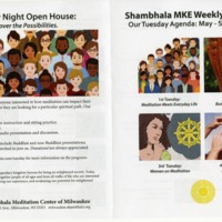 The Shambhala Center's Busy  Calendar