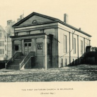 First Church of the First Unitarian Society of Milwaukee, 1843-1849