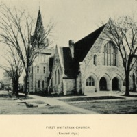 The Third and Present Church of the First Unitarian Society of Milwaukee, 1892