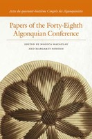 Papers of the Forty-Eighth Algonquian Conference