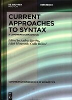 Current Approaches to Syntax: A Comparative Handbook